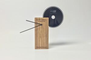 Bamboe klok als relatiegeschenk